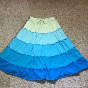 Other - Garnet Hill organic cotton ombré twirly skirt